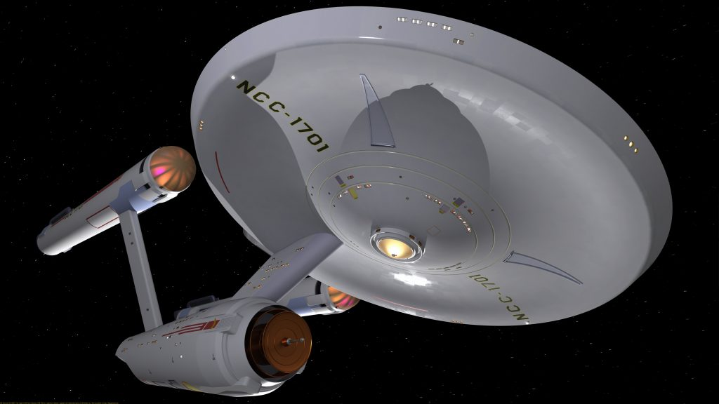 USS Enterprise WIP #0007