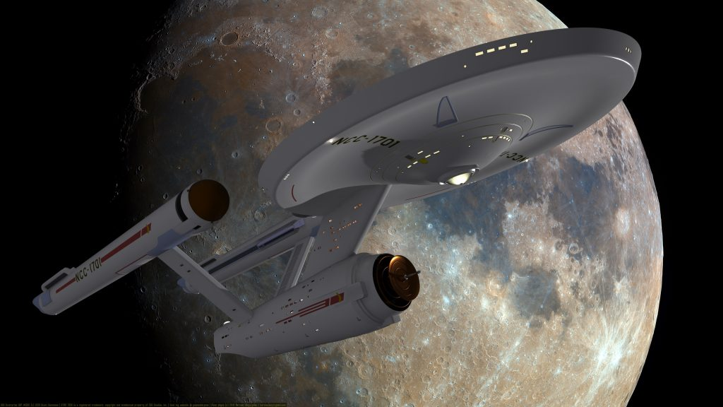 USS Enterprise WIP #0001