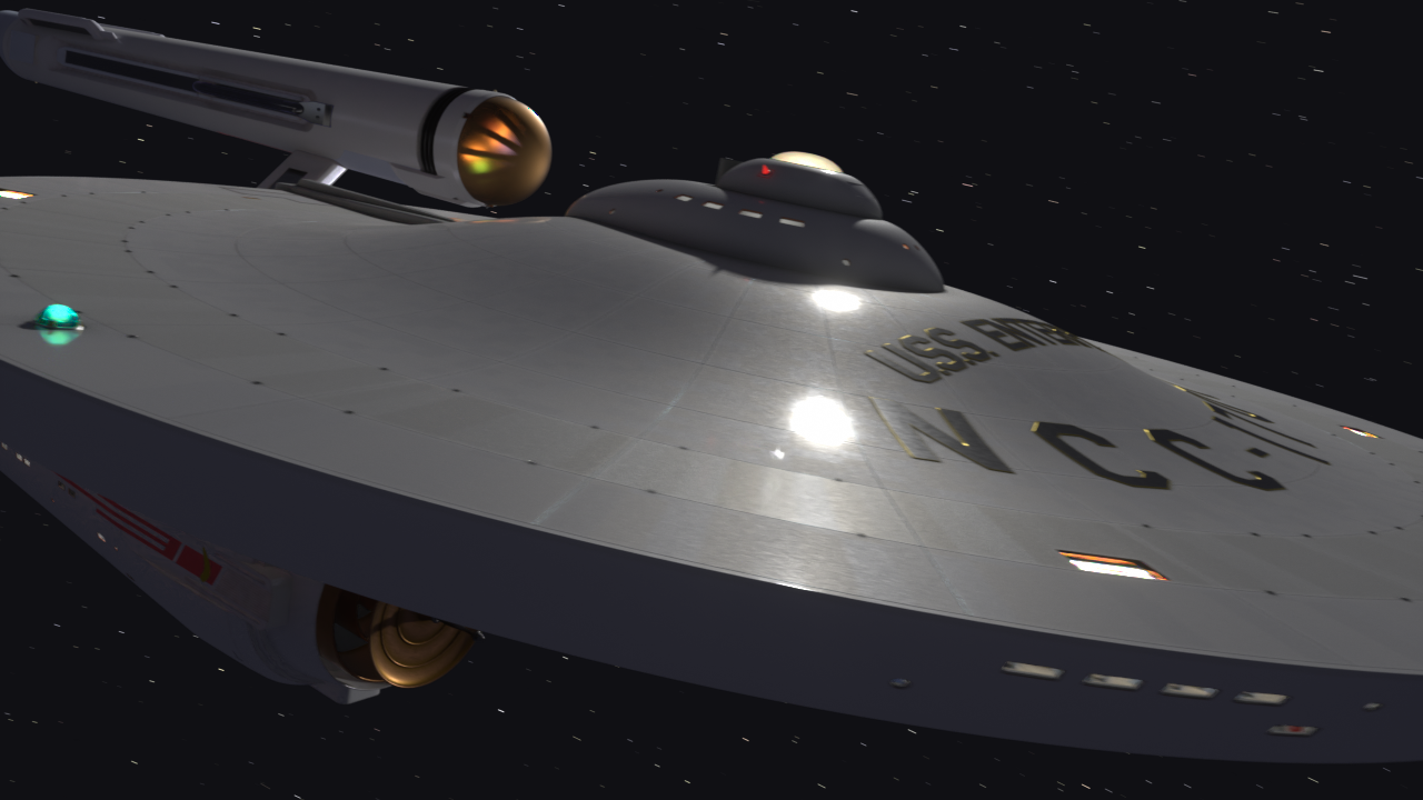 USS Enterprise WIP #013 July 26, 2019