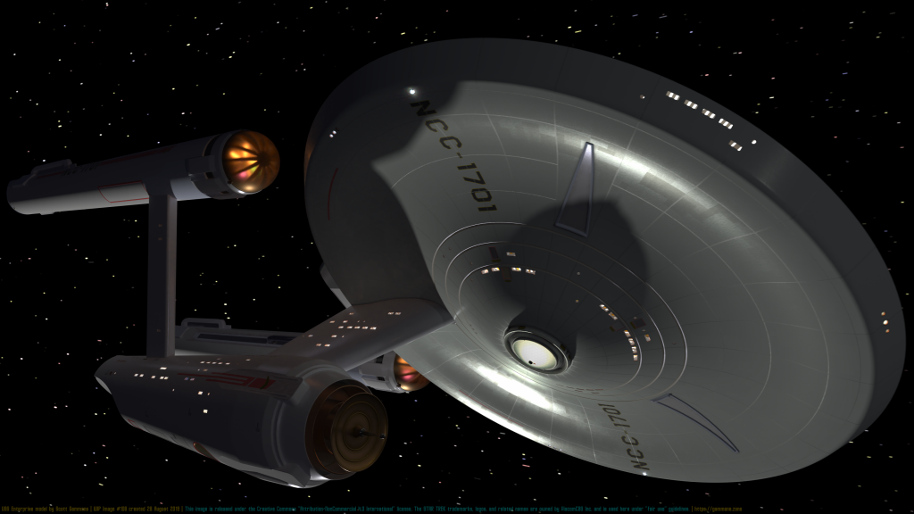 USS Enterprise WIP #108 August 28, 2019