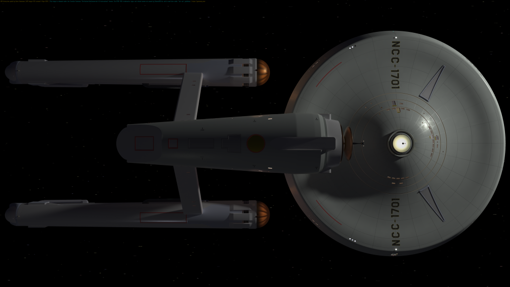 USS Enterprise WIP #111 September 4, 2019