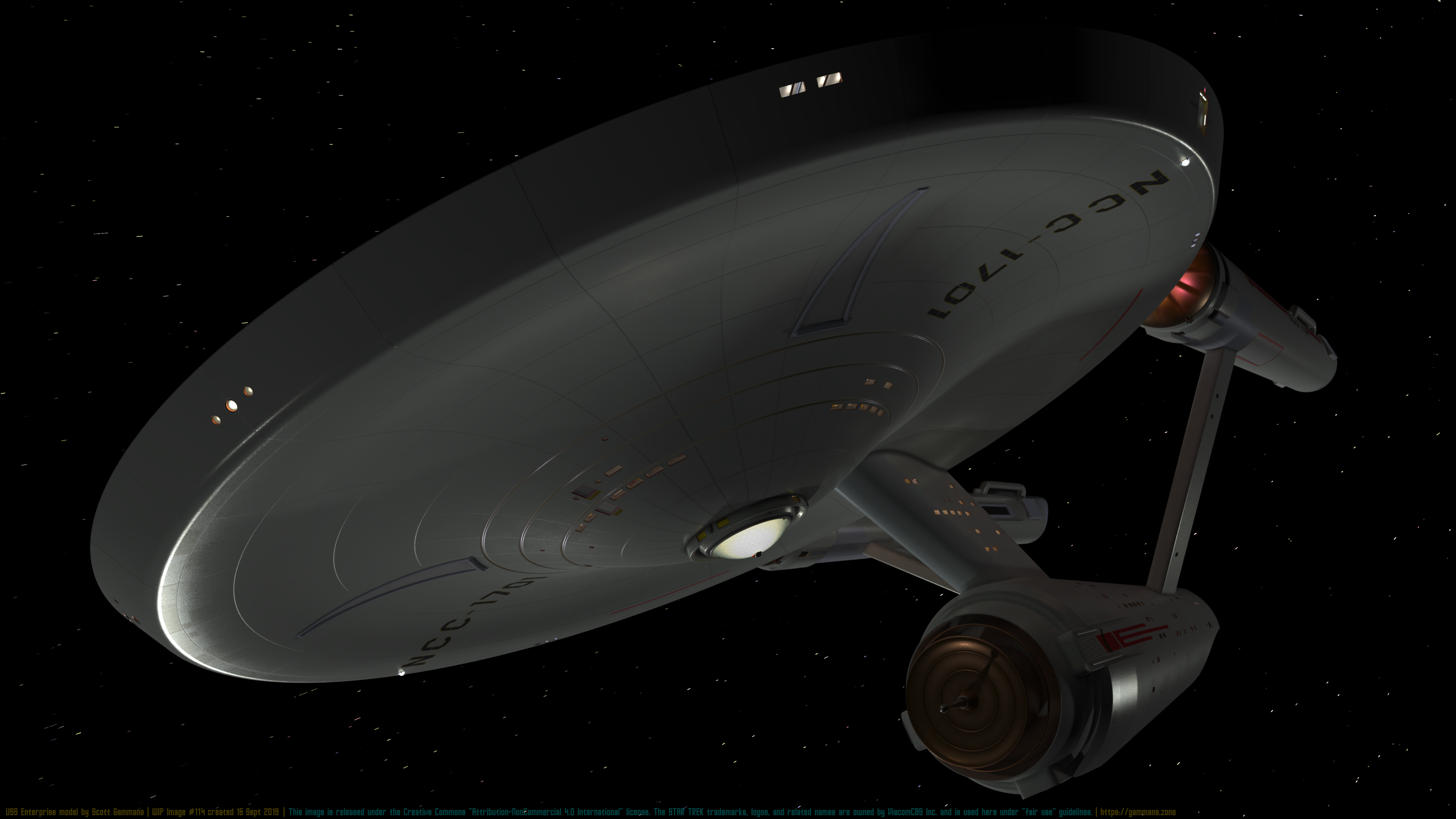 USS Enterprise WIP #114 September 15, 2019