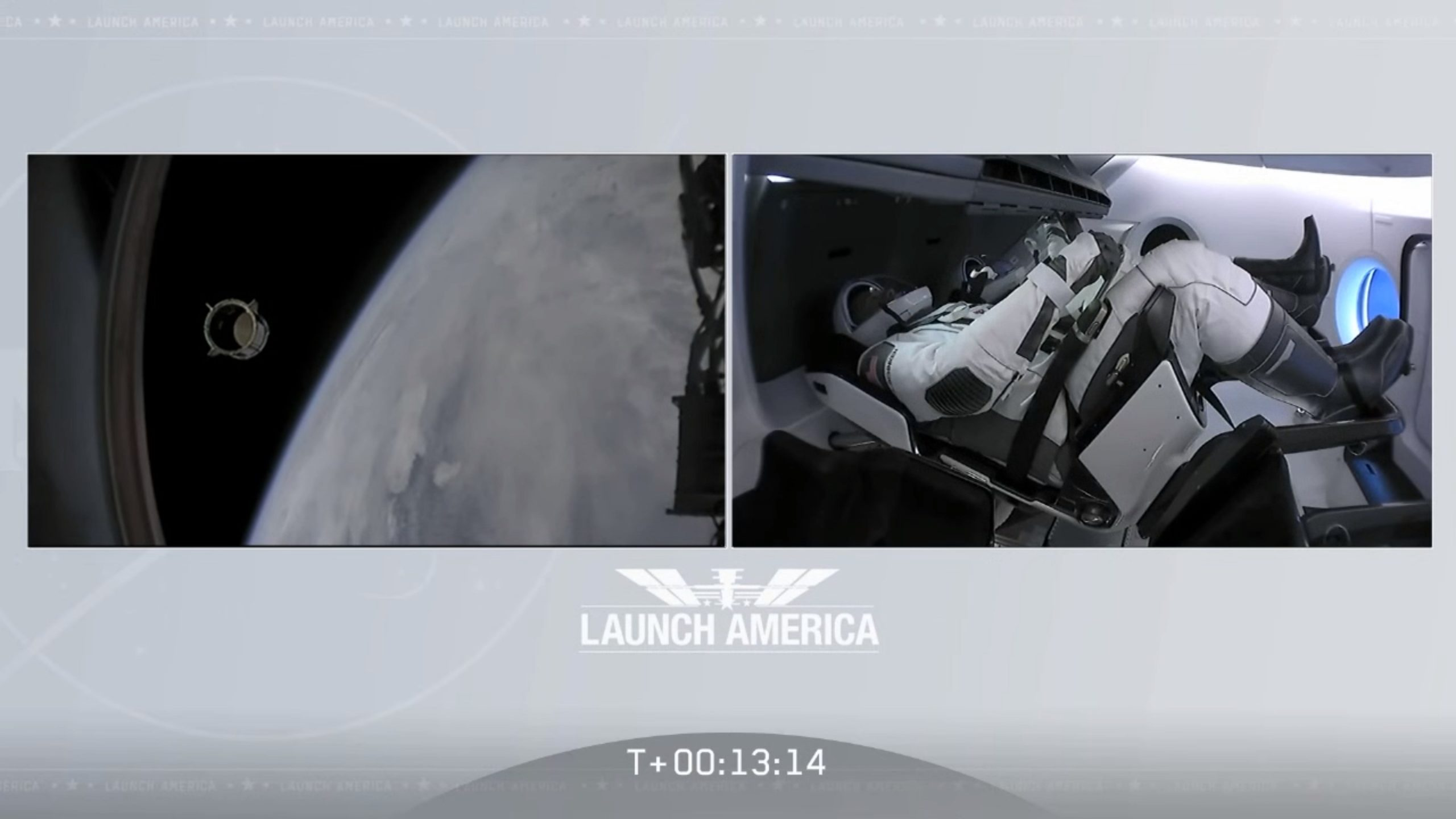 SpaceX Crew Demo Flight Screenshot