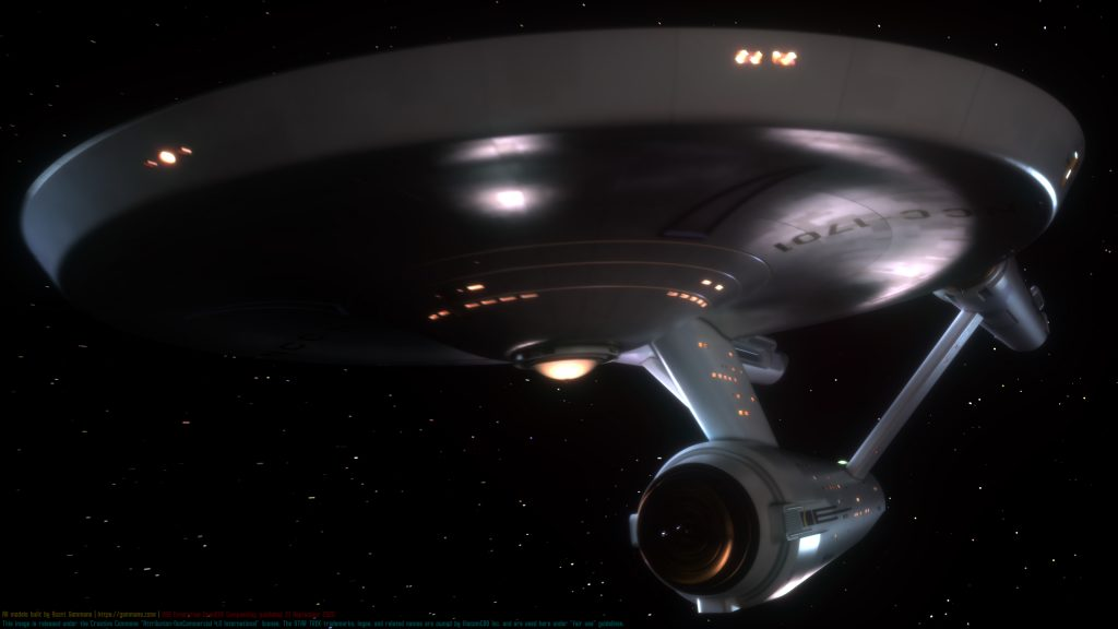 USS Enterprise HDR